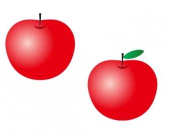 りんご・アップル・果物イラスト素材 | イラスト無料・かわいいテンプレート