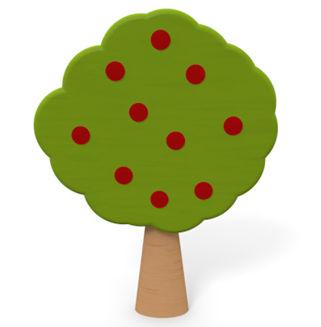 りんごの木 - 無料素材 - イラスト