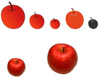 りんごイラスト素材