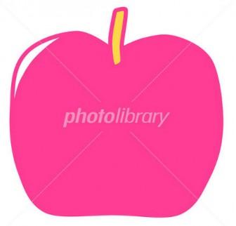 りんごイラスト - 写真素材 ID:1575611