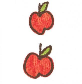 りんご-02の無料イラスト | かわいいイラストならイラストレイン