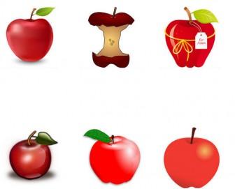 林檎 / リンゴ - GATAG|フリーイラスト素材集
