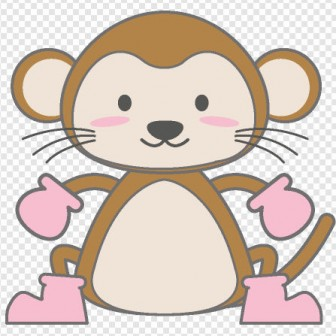 猿/サル/モンキー/干支|illustration