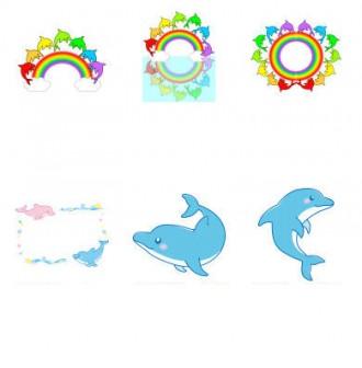 イラスト無料 「イルカ」のイラスト素材