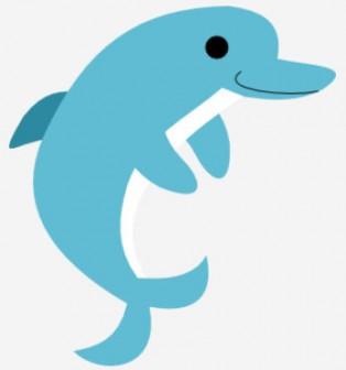 イルカのイラスト   無料イラスト作成ソフトInkscape(インクスケープ)の作品集