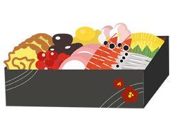 おせち料理 - GATAG|フリーイラスト素材集