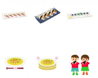 イラスト無料 「寿司」のイラスト素材