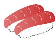 フリー素材、寿司