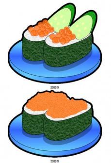 軍艦巻寿司のイラスト|フリー素材