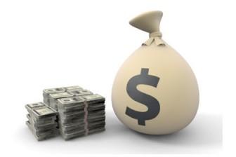 ドル|儲かる|ボーナス - イラスト - フリー素材