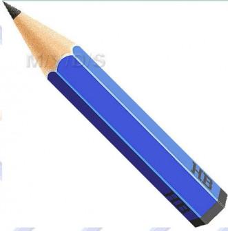 鉛筆(エンピツ)のイラスト・条件付フリー素材集