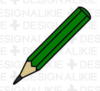 鉛筆アイコンの無料イラスト素材|イラストイメージ (ii)