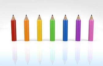 鉛筆 - 背景 - 無料素材