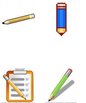 鉛筆 - GATAG|フリーイラスト素材集