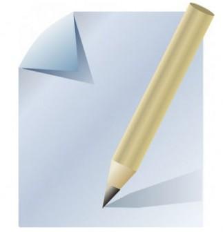 ドキュメント紙鉛筆クリップ アート ベクター クリップ アート - 無料ベクター | 無料素材イラスト・ベクターのフリーデザイナー