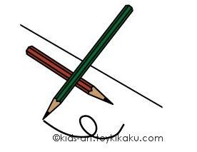 鉛筆 |文房具 | 学校イラスト無料素材