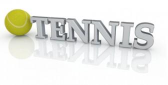 TENNIS - テニス の3D文字 無料イラスト素材