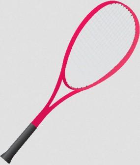テニス: 素材庭園(フリーイラスト素材集) ~花・動物・食べ物・人物・雑貨・ほか
