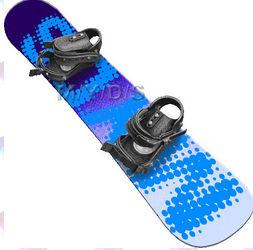 スノーボードのイラスト・条件付フリー素材集