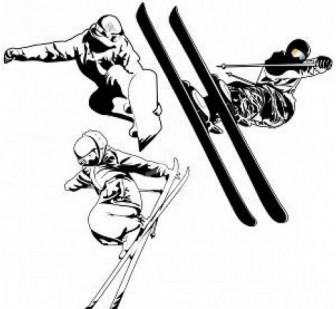 スノーボード/スキーイラスト 写真素材 | 無料ダウンロード
