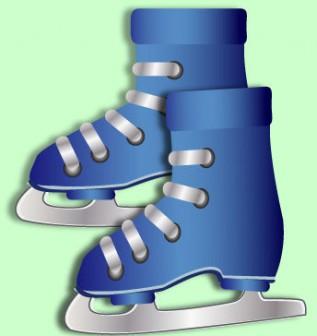 冬スポーツ|無料イラスト|ダウンロード|PNG/スケート1