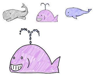 02鯨/クジライラスト|フリー素材