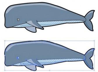 クジラのイラスト | 【無料配布】イラストレーター/ベクトル パスデータ保管庫【イラレ・ai・eps 商用可能素材】