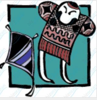 凧(たこ上げ)のイラスト|テンプレートの無料ダウンロードは【書式の王様】