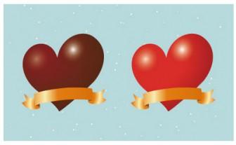 バレンタインデー チョコ イラスト 2 | EC design(デザイン)