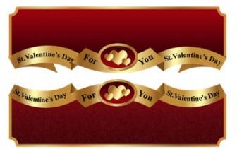 バレンタインイラストバナー 画像フリー素材|無料素材倶楽部