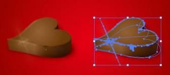 もうすぐバレンタイン! ハート型のチョコレートイラスト eps無料配布データ | 【無料配布】イラレ/イラストレーター/ベクトル パスデータ保管庫【ai・eps 商用可能ベクター素材】