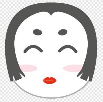 お多福さん|illustration