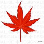 紅葉の葉フリーの無料イラスト素材