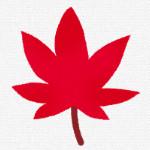 いろいろな落ち葉のイラスト