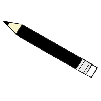 「鉛筆」フリーイラスト | シンプルフリーイラスト
